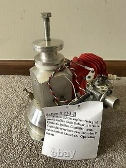 Air Hobbies 3.2 RC Remote Control Gas Gasoline Two Stroke Model Airplane Engine