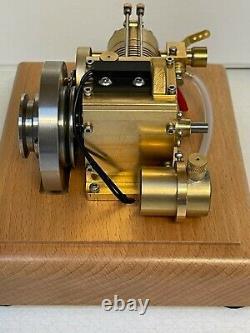 Amazing 1/8 scale model 4 stroke Engine Gas IC Engine 1920s Design