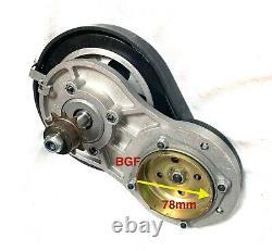 BGF 76 /78mm BELT Transmission gear box 49cc 4-stroke GAS engine motor bike