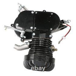 Black 100cc Bicycle Motor Kit 2 Stroke Bike Motorized Petrol Gas Engine Set