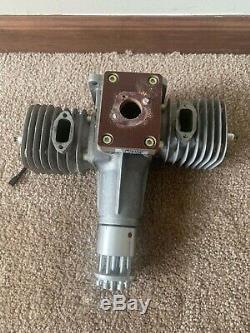Brand New 3W 80 80B2 B2 Twin Gas 2 Two Stroke RC Airplane Engine with Mufflers