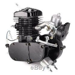 Brand New 80cc 2 Stroke Bike Bicycle Motorized Black Gas Motor Engine Kits