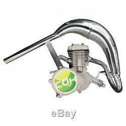 CDH66 Super PK80/Silver 2 stroke gas bike 80cc engine kits straight head