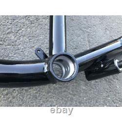 CDHPOWER Gas Bicycle Frame 3.4L(Black) 26 Fork & 2 Stroke 80cc Engine Kit PK80