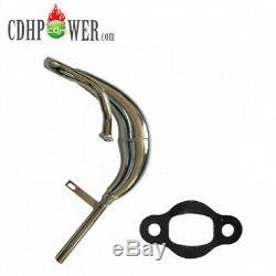 CDHPOWER New Cylinder CDH66 Super PK80/Silver 2 Stroke Gas Bike 80cc Engine Kits