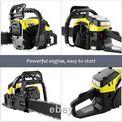 COOCHEER 58CC/62CC Gas Engine Guide Board Chainsaw 2 Stroke Engine