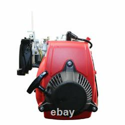 Double Chain4-Stroke 49CC Gas Petrol Motorized Bike Engine Motor Kit Scooter