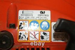ECHO CS-490 20 in. 50.2cc Gas Chainsaw 2-Stroke Engine 20 Bar & Chain