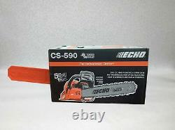 ECHO CS-590 Gas Chainsaw 20 in. 59.8cc 2-Stroke Engine