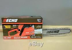 Echo CS-490 Professional Grade 20 Bar 50.2cc Engine 2-Stroke Chainsaw New