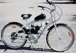 Engine Motor Kit for Motorized Bike Engine Petrol Gas 80cc 2-Stroke Push Bike