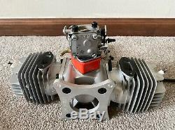 Excellent EME 120 120cc Twin RC Remote Control Gas Two Stroke Airplane Engine