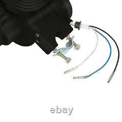 Full 80cc 2-Stroke Motor Engine Kit Gas for Motorized Bicycle Bike Black