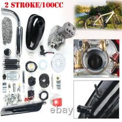 Full Set 100cc 2 Stroke Bicycle Engine Kit Gas Motorized Motor Bike Modified Set