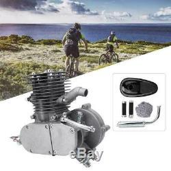 Full Set 100cc Bicycle Engine Kit 2-Stroke Gas Motorized Motor Bike DIY Modified