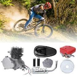 Full Set 100cc Bicycle Engine Kit 2-Stroke Gas Motorized Motor Bike Modification