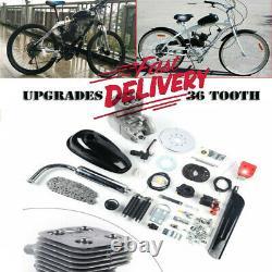 Full Set 100cc Bicycle Engine Kit 2 Stroke Gas Motorized Motor Bike Modified Set