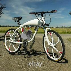 Full Set 100cc Bike Bicycle Motorized 2 Stroke Petrol Gas Motor Engine Kit 2L