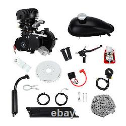 Full Set 100cc Bike Bicycle Motorized 2 Stroke Petrol Gas Motor Engine Kit Black