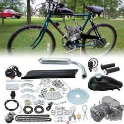 Full Set 2 Stroke 50cc Bicycle Petrol Gas Motorized Engine Bike Motor Kit