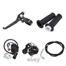 Full Set 50cc Bike Bicycle Motorized 2 Stroke Petrol Gas Motor Engine Kit Set DE