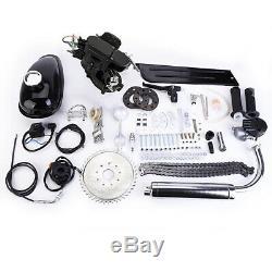 Full Set 80cc 2 Stroke Bike Bicycle Engine Motorized Petrol Gas Motor Kit NEW US