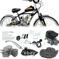 Full Set 80cc Bike Bicycle Motorized 2 Stroke Petrol Gas Motor Engine