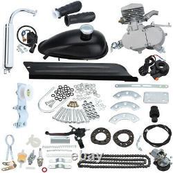 Full Set 80cc Bike Bicycle Motorized 2 Stroke Petrol Gas Motor Engine Kit