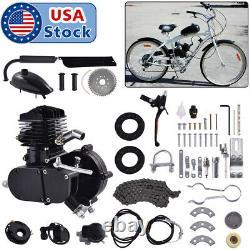 Full Set 80cc Bike Bicycle Motorized 2 Stroke Petrol Gas Motor Engine Kit Set