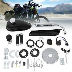 Full Set 80cc Bike Bicycle Motorized 2 Stroke Petrol Gas Motor Engine Kit Set M