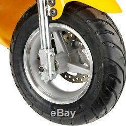 Gas Pocket Bike Motorcycle Mini Powered 49CC 2-Stroke Engine 1.8L Fit Teens/Kids