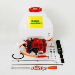Gas-Powered Backpack Sprayer 8-Gallon 8500r/m 25.4cc 2-Stroke TU26 Engine
