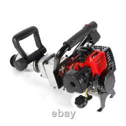 Gas Powered T Post Driver 2 Stroke Pile Gasoline Engine Push Fence Farm 900W US