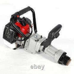 Gas Powered T Post Driver 32.6CC 2 Stroke Pile Gasoline Engine Push Fence Farm