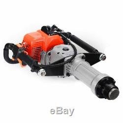 Gas Powered T-Post Driver 33cc 1.4HP 2-stroke Gasoline Engine Push Pile Driver