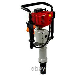 Gas Powered T-Post Driver 52cc 2.3HP 2-stroke Gasoline Engine Push Pile Driver