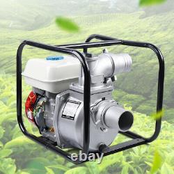 Gas Powered Water Transfer Pump 7.5HP 4stroke Engine for Garden Farm Irrigation