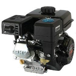 Gear Reduction Engine 170F 7.5HP Horizontal 4-Stroke Gas Motor Recoil Start Kart
