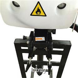 HANGKAI 4 Stroke 4HP Outboard Motor Boat Gas Engine Heavy Duty Air Cooling CDI S