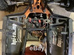 HPI Baja 5 T 1/5 Truck 2wd GAS 2 STROKE ENGINE USED NO RADIO DDM HOSTILE