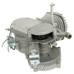 Hot 80cc 2-Stroke Gas Motor Engine Kit for 24/26 Motorized Bicycle Bike Silver