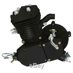 Hot Bike Motor 2-Stroke 50cc Petrol Gas Motorized Bicycle Engine Kit DIY Black