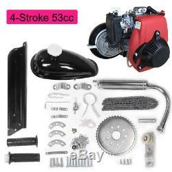 Hot Sale 4 Stroke 53cc Bicycle Bike Motor Gas Petrol Engine Kit Set Belt Gear