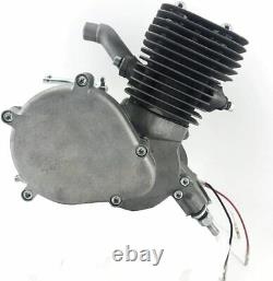 JZsports 2 Stroke Yd100 Motor-Silver Color Engine-Gas Motorized Bicycle