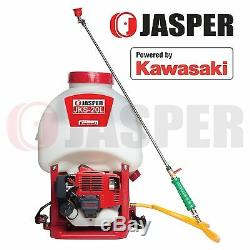 Jasper Backpack Pressure Sprayer Powered By Kawasaki Engine 2 Strokes TJ27E