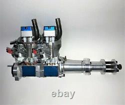 KOLM IL100 V4 Inline 2-Cylinder 4-Stroke Gas Engine