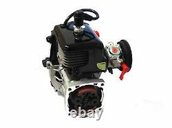 King Motor 29cc 4 Bolt 2 Stroke Gas Engine & WT997 Carb Fits HPI Baja 5B Rovan
