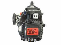King Motor 29cc 4 Bolt 2 Stroke Gas Engine with WT997 Carb Fits HPI Baja 5B 5T++