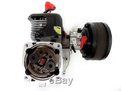 King Motor 34cc 2 Stroke Gas, Petrol Engine Fits LOSI 5IVE-T CY RED CAT FG Rovan
