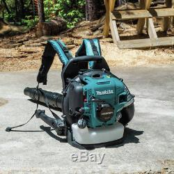 Makita 52.5 cc MM4 Stroke Engine Hip Throttle Backpack Blower EB5300WH New